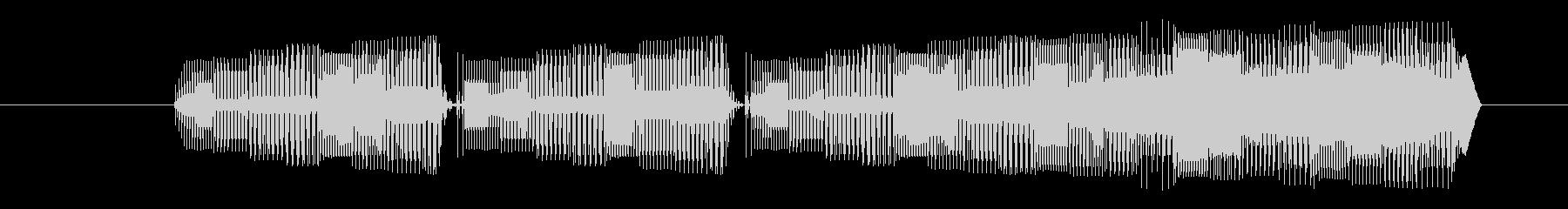 FX 合成シューティング01の未再生の波形