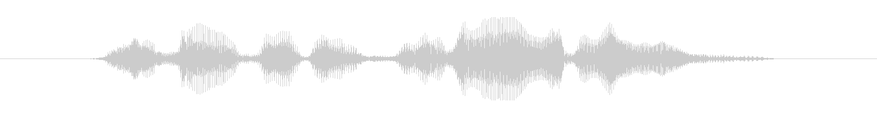 8 今なら貰える DJ風の未再生の波形