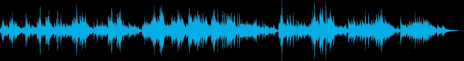 切ないピアノバラード(悲しい・悲劇)の再生済みの波形