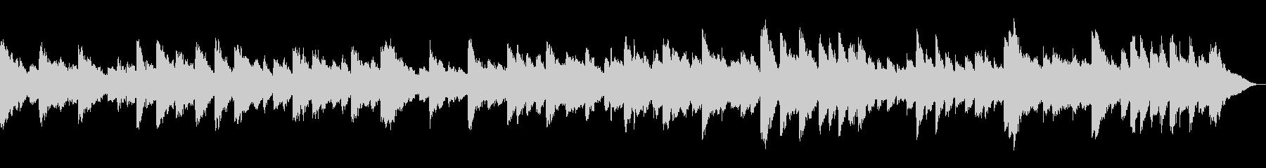 リラックス有名クラシック lofiピアノの未再生の波形