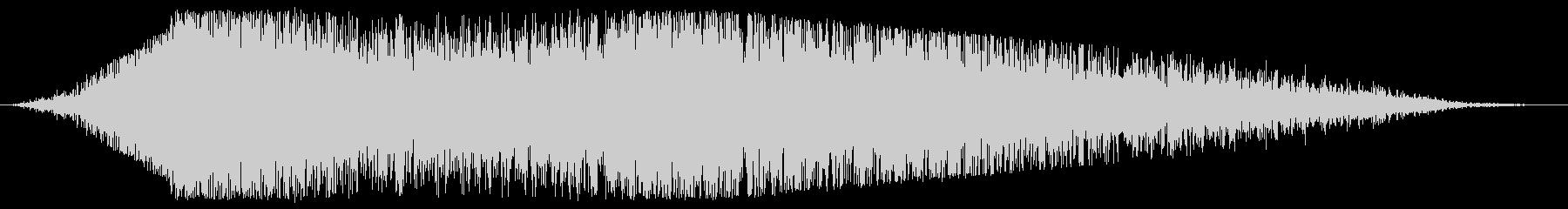 データスライド変換の未再生の波形