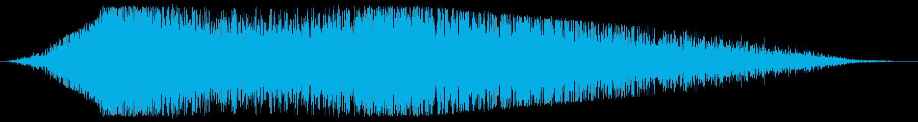 データスライド変換の再生済みの波形