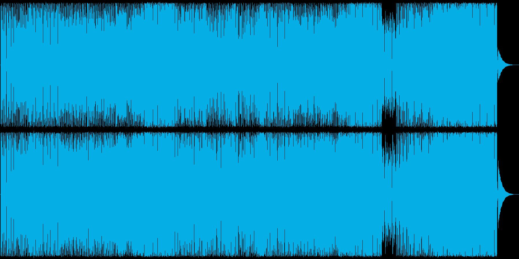 Ooh la laの再生済みの波形