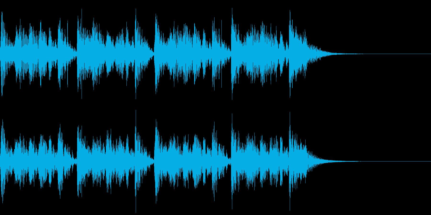 BEAT SHORTの再生済みの波形