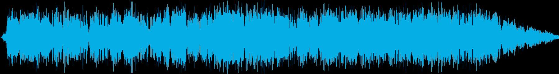 金属中空周波数通信干渉の再生済みの波形