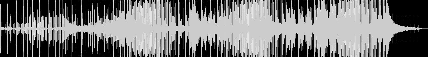 みずみずしいフューチャーエレクトロニカの未再生の波形