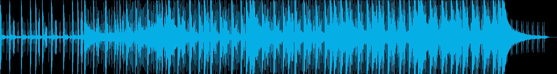みずみずしいフューチャーエレクトロニカの再生済みの波形