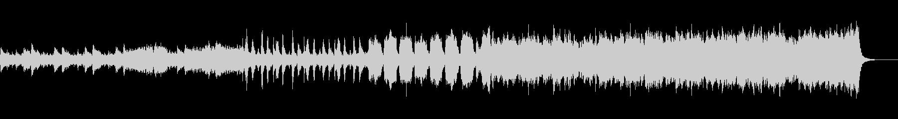 SFアクション風オーケストラの未再生の波形
