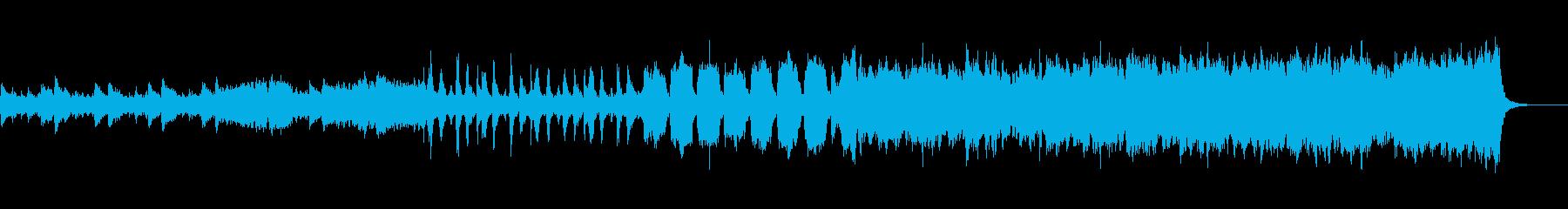 SFアクション風オーケストラの再生済みの波形