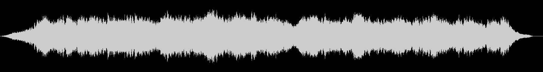Lo-fi  ドローンアンビエントの未再生の波形