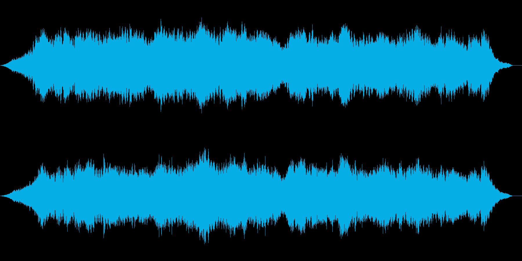 Lo-fi  ドローンアンビエントの再生済みの波形