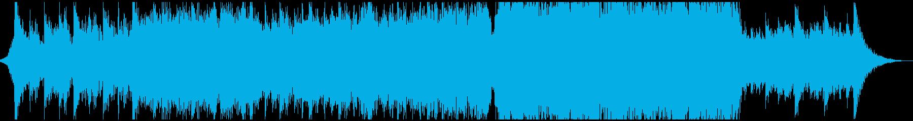 現代的 交響曲 ドラマチック 荘厳...の再生済みの波形