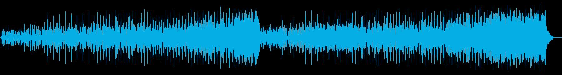 シリアスなワンシーンのマイナー調の再生済みの波形