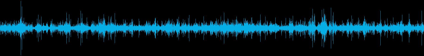 「カラカラ…」風にそよぐ2の再生済みの波形