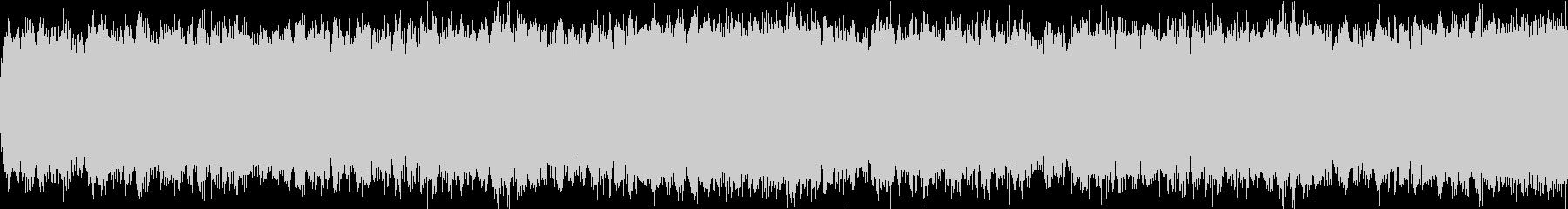 緊迫のバトル オーケストラ風   ループの未再生の波形