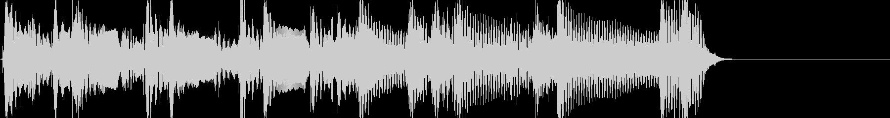 怪しいアコギジングル ワンフレーズ生音の未再生の波形