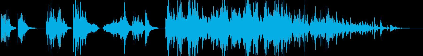 弦楽器とピアノの暖かくて優しいBGMの再生済みの波形
