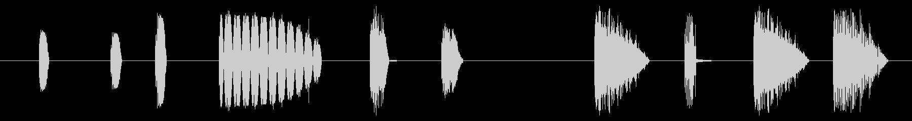 フィクション スペース 小さなワー...の未再生の波形