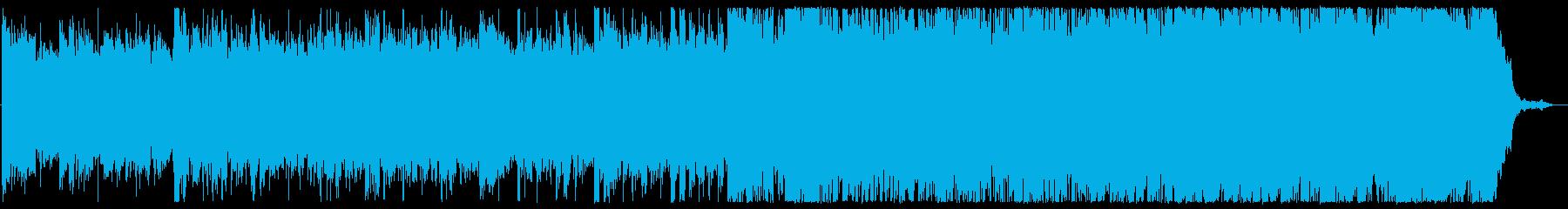 アンビエント トラップ ヒップホッ...の再生済みの波形