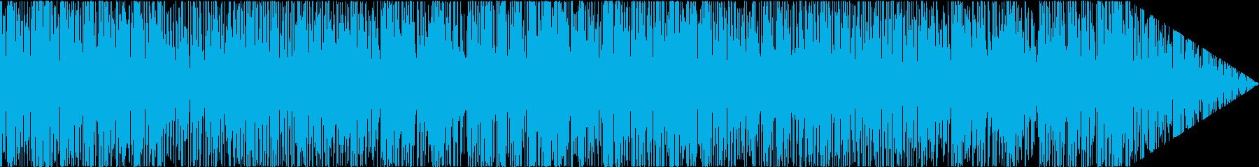ゆったり聞けるアコースティックなボサノバの再生済みの波形