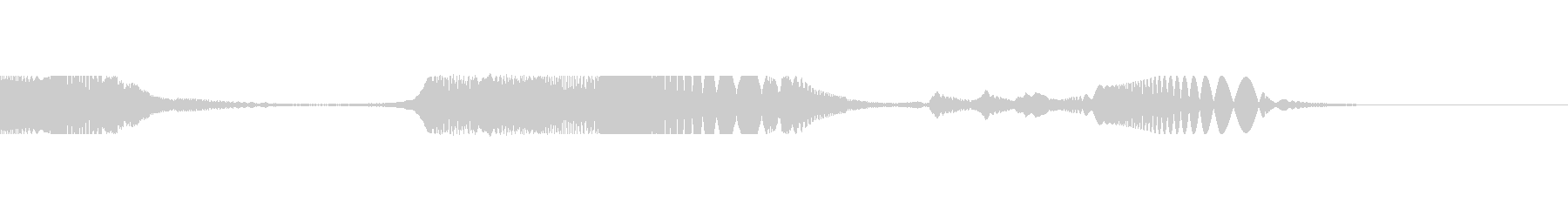 レーザーリコシェット2の未再生の波形