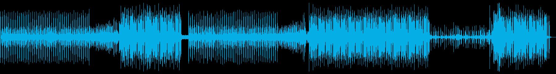 アッパーなK-POP風ダンスチューン の再生済みの波形