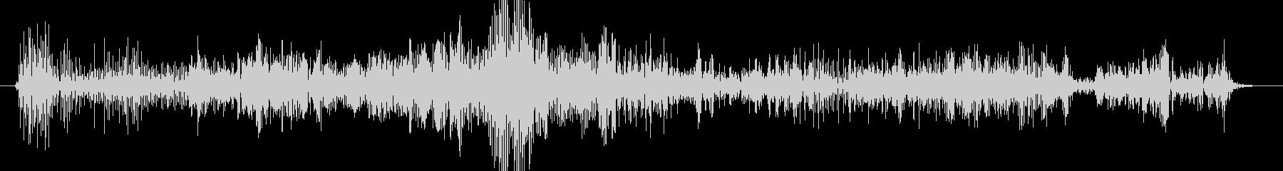 ノイズ ランブルグリッチロング02の未再生の波形