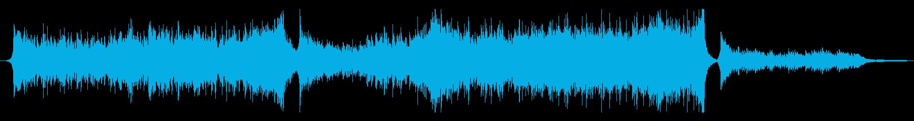 アドベンチャー系のシネマティックの再生済みの波形
