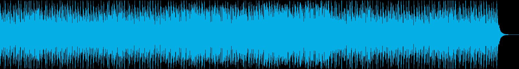 明るく優しい和風曲の再生済みの波形
