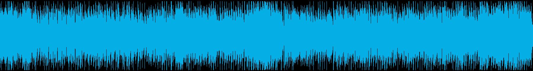 超陽気なカントリー ※ループ仕様版の再生済みの波形