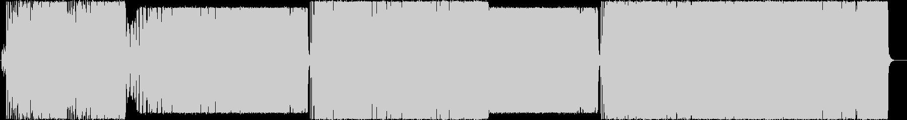 洋楽風ポップパンクの未再生の波形