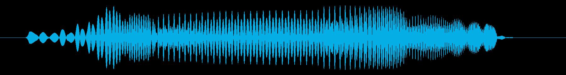 プヨ(スライム・攻撃・はねる・コミカル)の再生済みの波形
