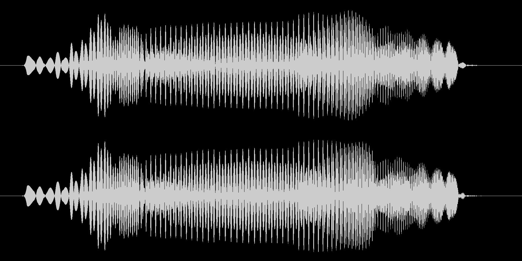 プヨ(スライム・攻撃・跳ねる・コミカル)の未再生の波形
