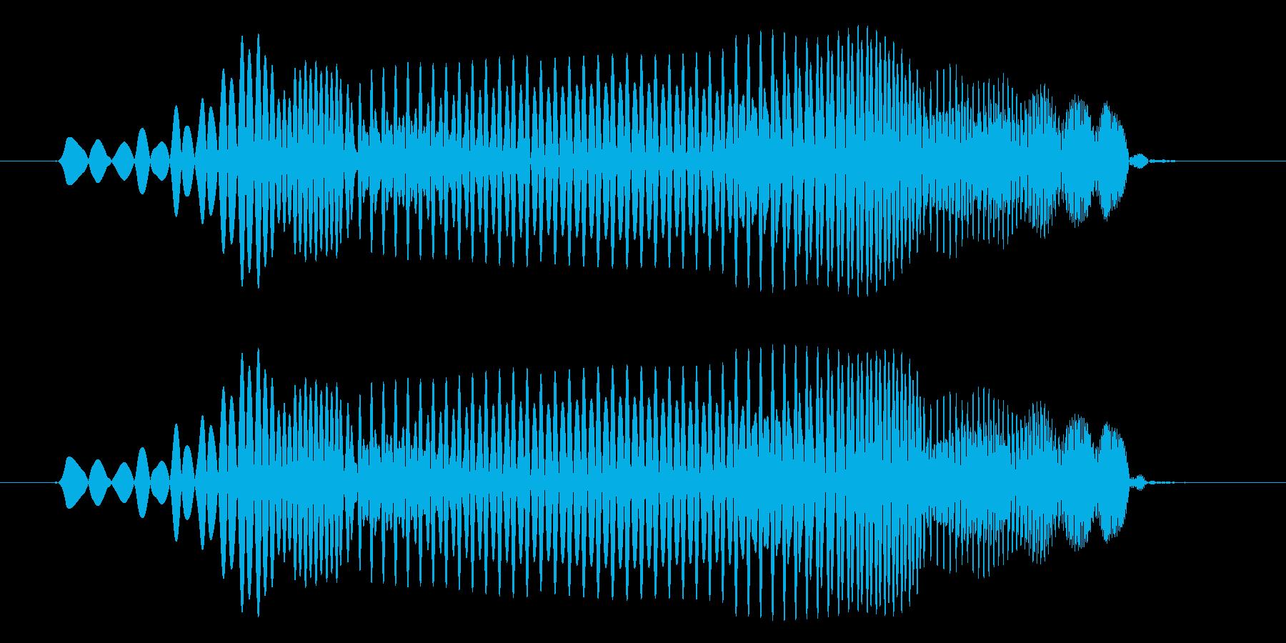 プヨ(スライム・攻撃・跳ねる・コミカル)の再生済みの波形