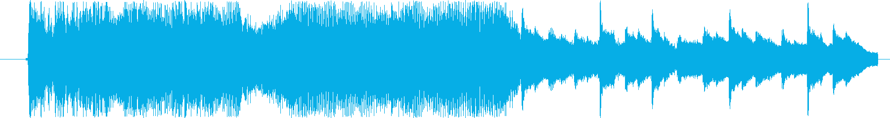ビジュアルをブランディングしたり、...の再生済みの波形