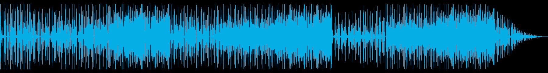 HIPHOPトラック/スクラッチが特徴的の再生済みの波形