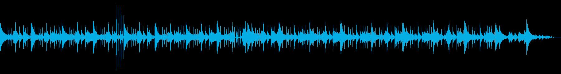 ゆったりピアノLoFi Hiphopの再生済みの波形