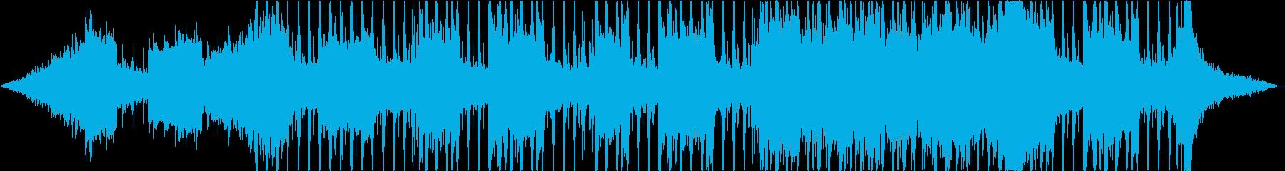 テクノ系テクスチャー 60秒CM向けの再生済みの波形