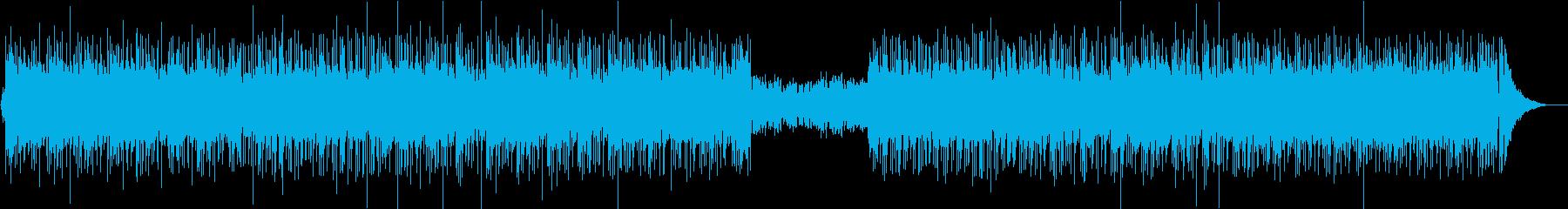大人な雰囲気のおしゃれJ−POP風BGMの再生済みの波形