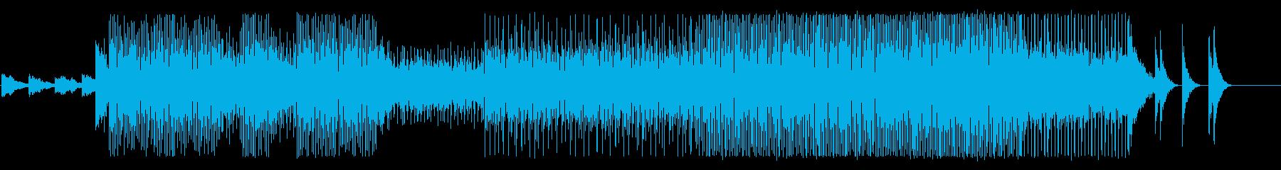 魔物に追われる様な恐怖のサウンドの再生済みの波形