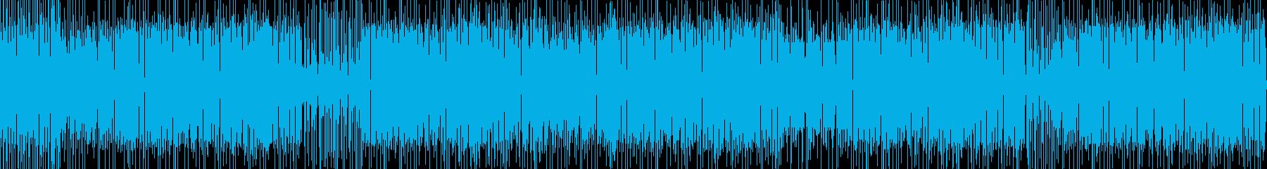 ヘタうま感たっぷりなレゲエポップの再生済みの波形