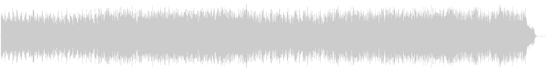 アコースティック風BGM(フルサイズ)の未再生の波形