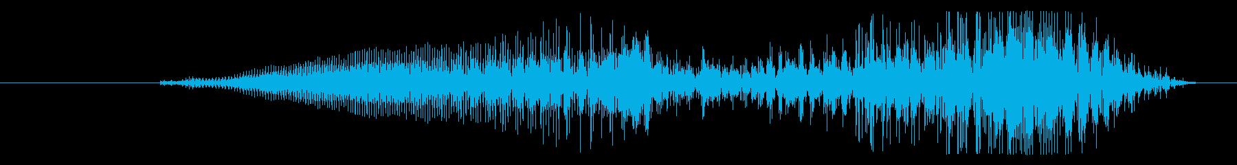 モンスター ペインフルクライハイ17の再生済みの波形