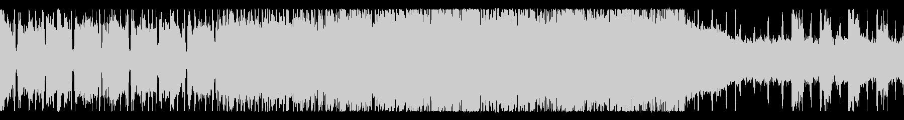 疾走感のあるロックギターサウンドの未再生の波形