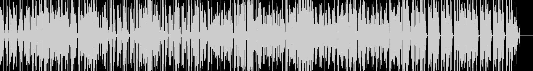 ブレイクビーツが目立つヒップホップビートの未再生の波形
