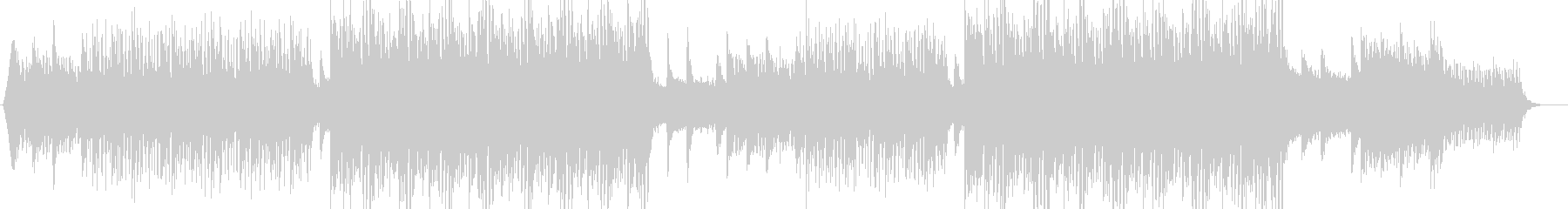 A song with a fashionable and clear image's unreproduced waveform