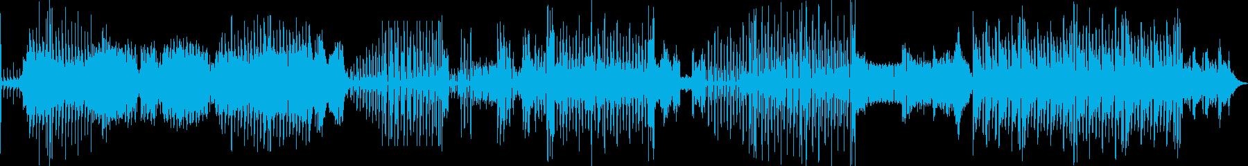 コミカルなリズムでダークなメロディーの再生済みの波形