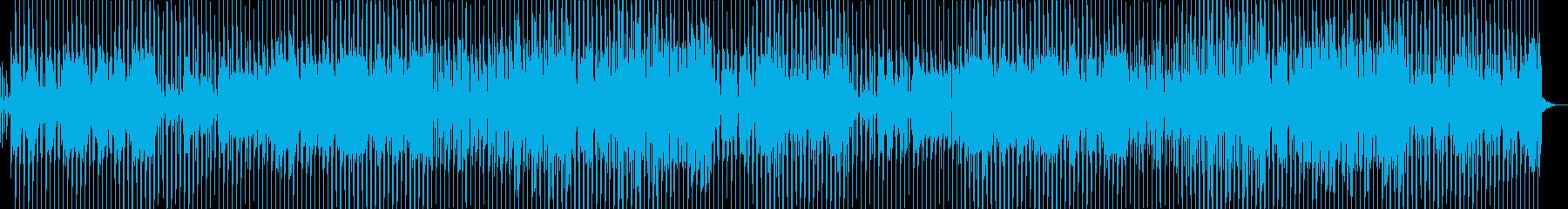 ポップ テクノ ファンク ラウンジ...の再生済みの波形