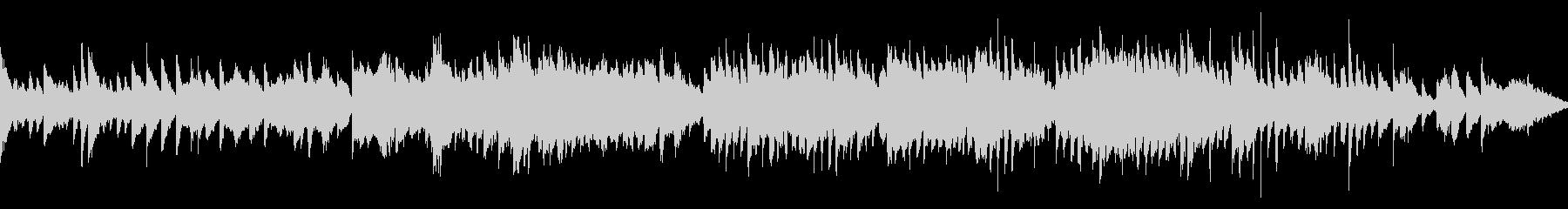 ファンタジーな森をイメージしたゲーム音楽の未再生の波形