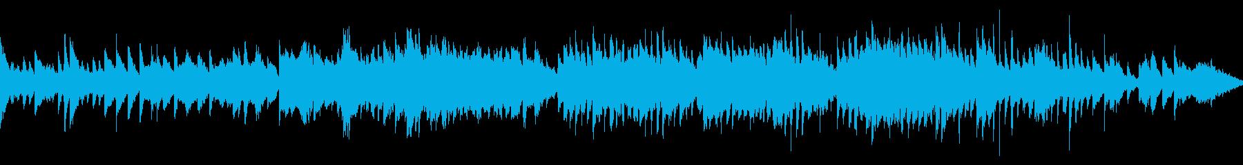 ファンタジーな森をイメージしたゲーム音楽の再生済みの波形